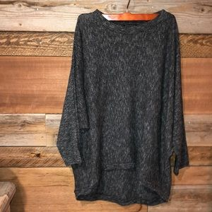 Staccato High Low Dolman Sweater M